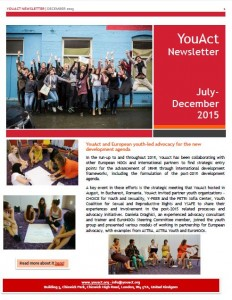 YouAct Newsletter December 2015