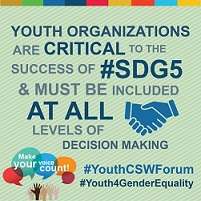 Youth CSW Forum – Join the e-consultation