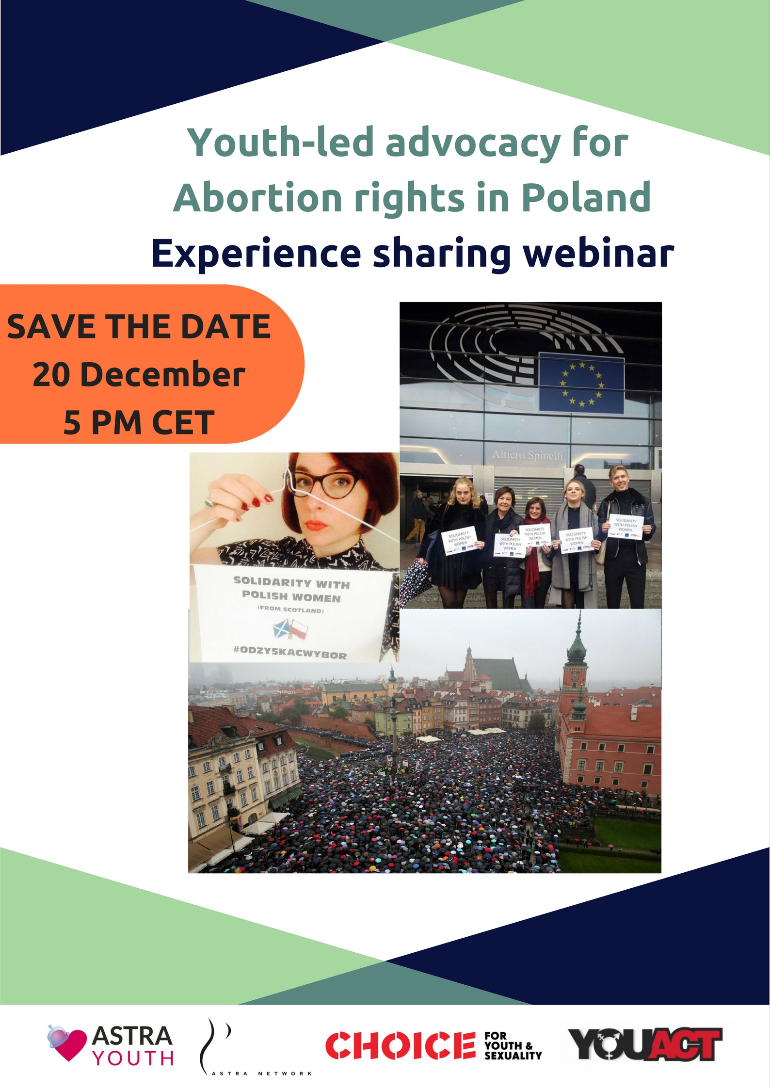 Webinar on youth-led advocacy for abortion rights in Poland