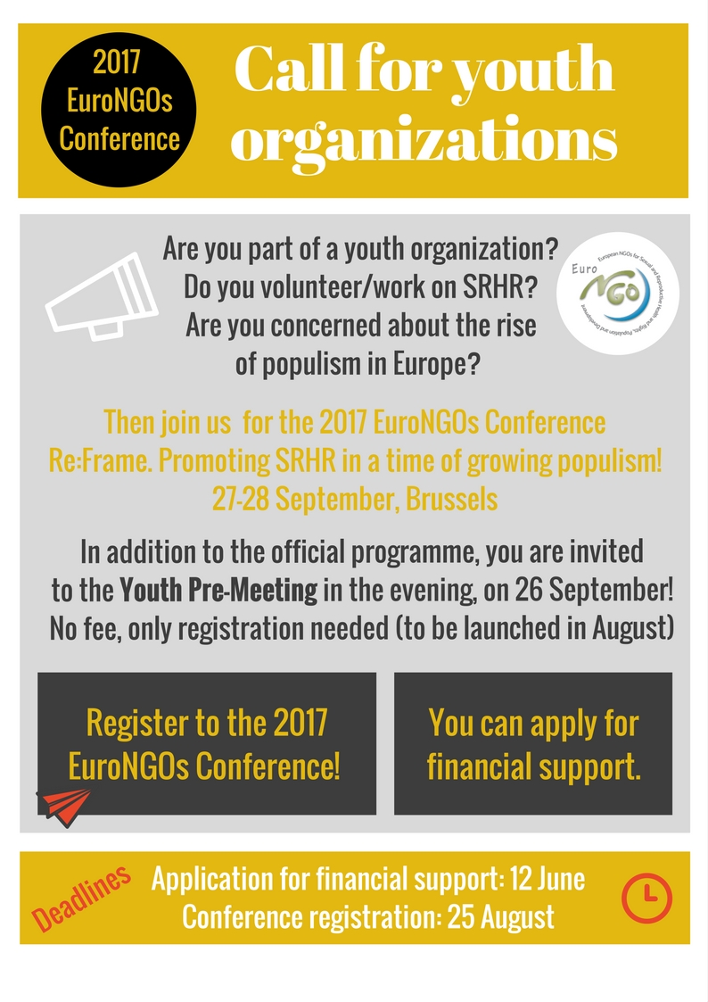 Youth Participation at EuroNGOs Conference