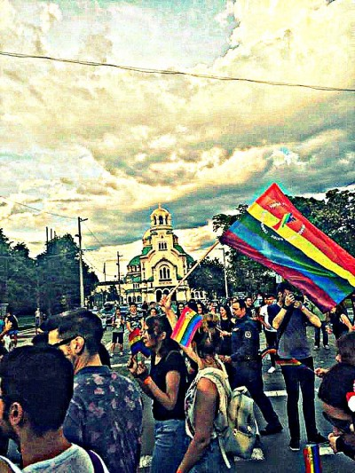 Experiencing the Sofia Pride