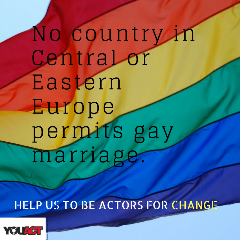 Central and Eastern European countries allow gay marriage (1)