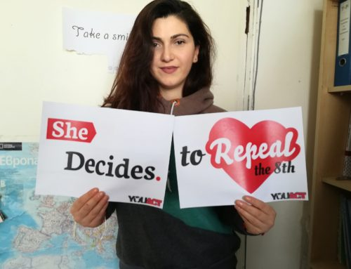 She Decides to Repeal the 8th