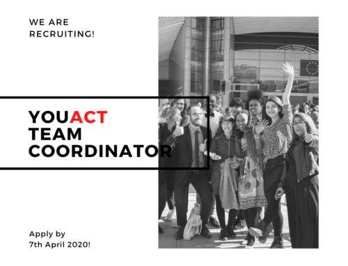Coordinator Recruitment Announcement 2020