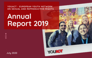 cover page YouAct Annual Report 2019